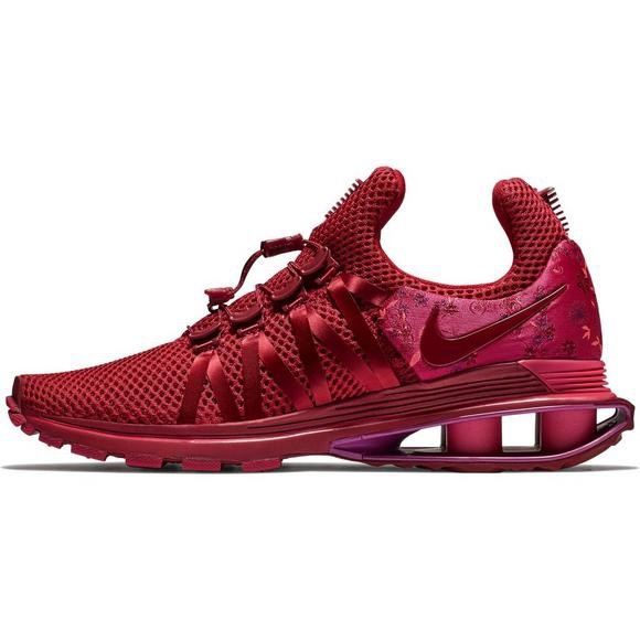 finest selection ec8de 41055 Nike Shox Gravity Women's Red Wild Cherry Shoes